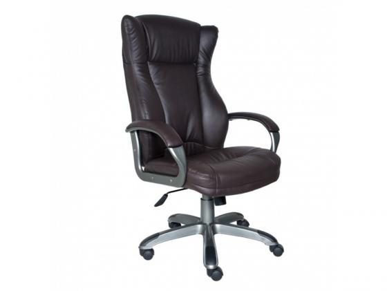 Кресло Buro CH-879DG/Coffee пластик темно-серый искусственная кожа темно-коричневый кресло руководителя бюрократ ch 879dg brown коричневый искусственная кожа пластик темно серый