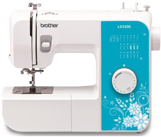 Швейная машина Brother LX-3500 бело-голубой