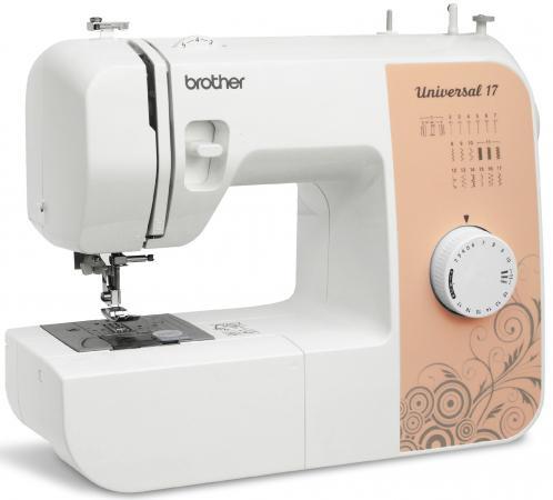 Швейная машина Brother Universal 17 бело-бежевый все цены