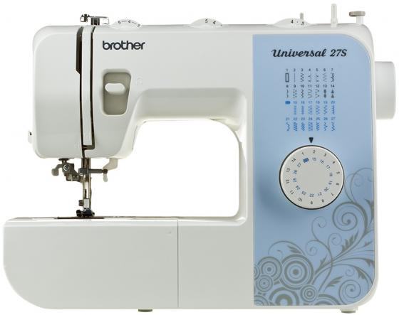 Швейная машина Brother Universal 27S бело-голубой цена и фото