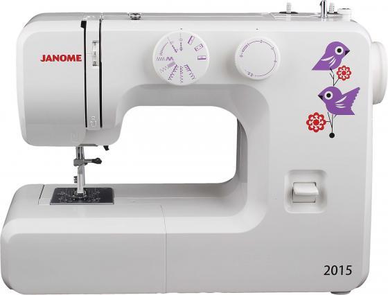 Швейная машина Janome 2015 белый швейная машинка janome sew mini deluxe