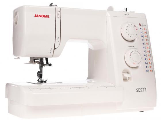 Швейная машина Janome SE 522 белый janome 2055 белый зеленый