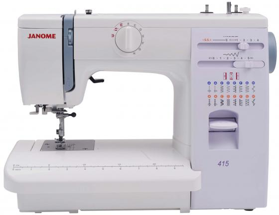 лучшая цена Швейная машина Janome 415 белый