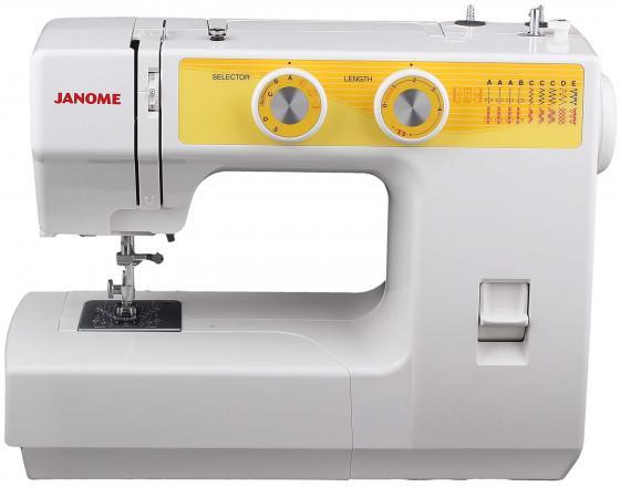 Швейная машина Janome JT1108 бело-желтый a 2015 95% xxxl 8120