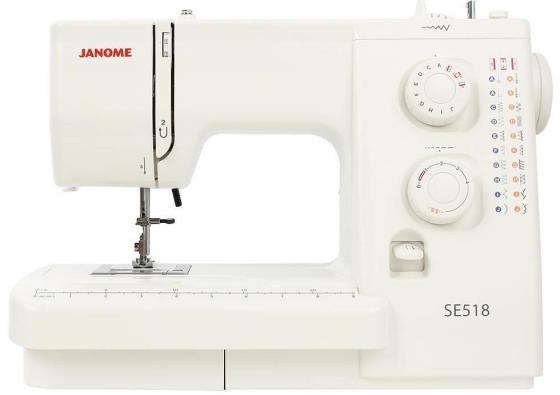 Швейная машина Janome SE 518 белый все цены