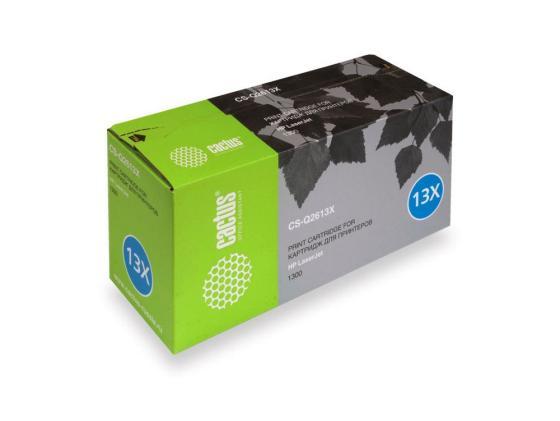 Фото - Картридж Cactus CS-Q2613X для LaserJet 1300 4000стр картридж cactus csp q2613a для laserjet 1300 3500стр
