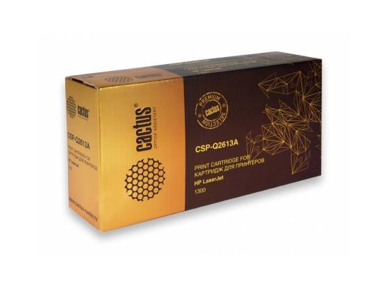 Картридж Cactus CSP-Q2613A для LaserJet 1300 3500стр картридж cactus cs c7115xs для laserjet 1200 1220 1300 3300 3380 3500стр