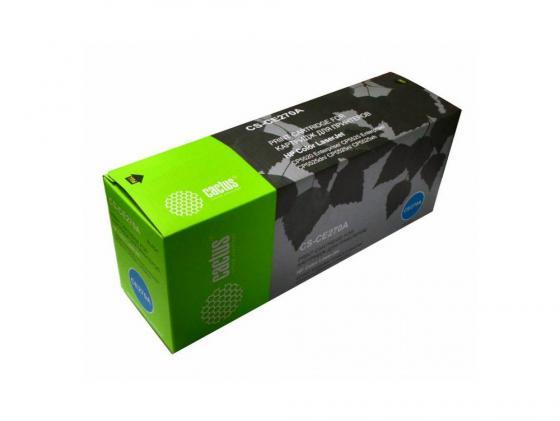 Картридж Cactus CS-CE270A для HP Color LaserJet Enterprise CP5525 черный 13000стр
