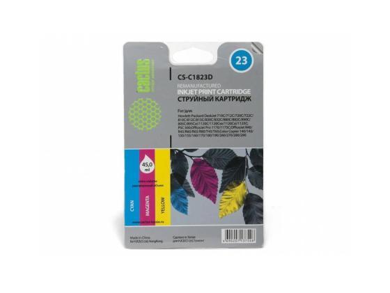 Картридж Cactus CS-C1823D №23 для HP DeskJet 700series/712c/720c/722c/810/812c/815c/830C/832C цветной joie et beaute© повседневные брюки