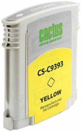 цена Картридж Cactus CS-C9393 №88 для HP Officejet Pro K550 желтый онлайн в 2017 году