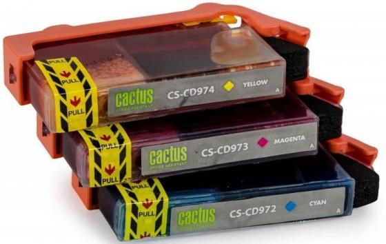 Фото - Комплект картриджей Cactus СS-CD972/3/4 №920XL СS-CD972/3/4 для HP Officejet 6000/6500/7000/7500 цветной semicouture юбка длиной 3 4