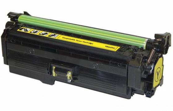 Тонер-картридж Cactus CSP-CE262A PREMIUM для HP Сolor LaserJet CP4025/CP4525/CM4540 желтый 11000стр картридж hp ce262a