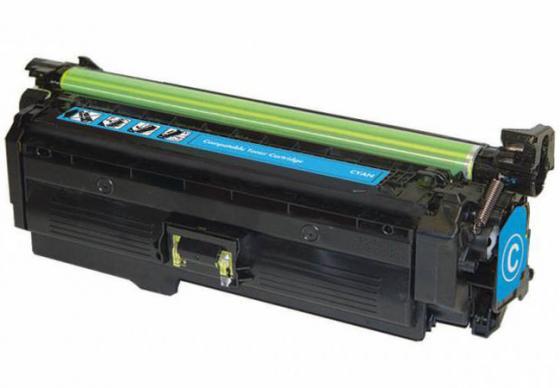 Тонер-картридж Cactus CSP-CE261A Premium для HP CP4025/CP4525/CM4540 голубой 11000стр 100% original transfer kit unit for hp cp4025 cp4525 4025 4525 4540 hp4025 hp4525 ce249a transfer belt assembly on sale