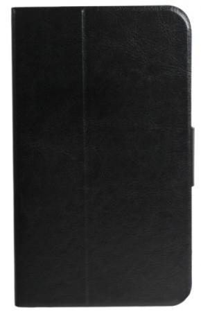 """Чехол Jet.A SC7-5 для Samsung Galaxy Tab 3 7"""" натуральная кожа черный цена и фото"""