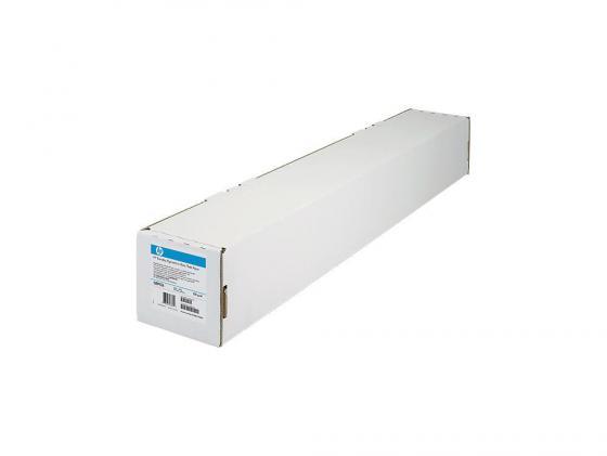 Бумага HP 60 1524мм х 30.5м 130г/м2 рулон с покрытием для струйной печати C6977C фотобумага hp 60 1524мм x 30 5м 200г м2 рулон глянцевая для струйной печати универсальная быстросох