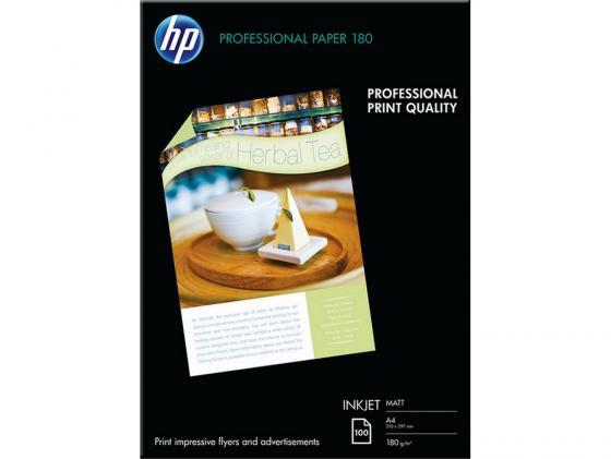 Фото - Фотобумага HP A4 210x297мм 180г/м2 двухсторонняя для струйной печати матовая Q6592A фотобумага hp а4 180г м2 50л глянцевая c6818a