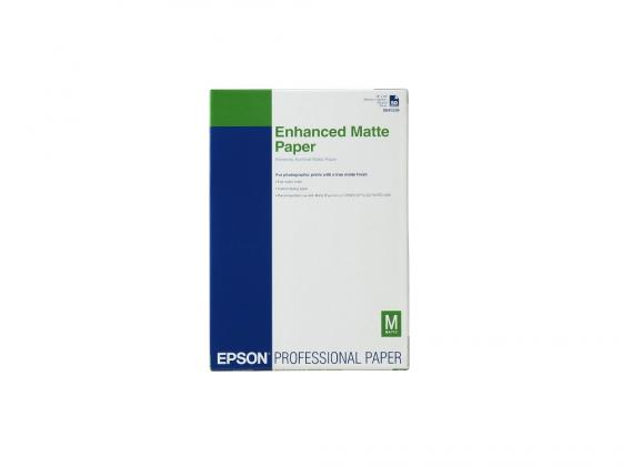 Бумага Epson Enchanced Matter Paper A2 192г/м2 C13S042095 бумага c13s041617 epson enchanced adhesive syntetic paper 2430 5m c13s041617