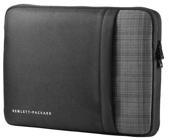 Чехол для ноутбука 14 HP UltraBook Sleeve синтетика черный F7Z99AA чехол для ноутбука 14 printio куница