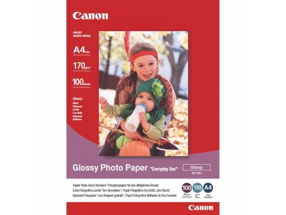 Фото - Бумага Canon GP-501 A4 210 г/кв.м глянцевая 0775B001 100л canon фотобумага глянцевая 0775b001