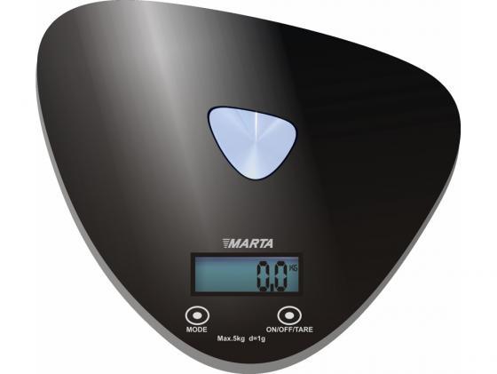Весы кухонные MARTA MT-1632 электронные черный