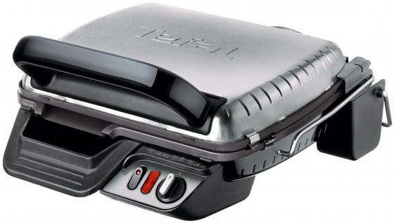Электрогриль Tefal GC306012 чёрный серебристый tefal gc306012