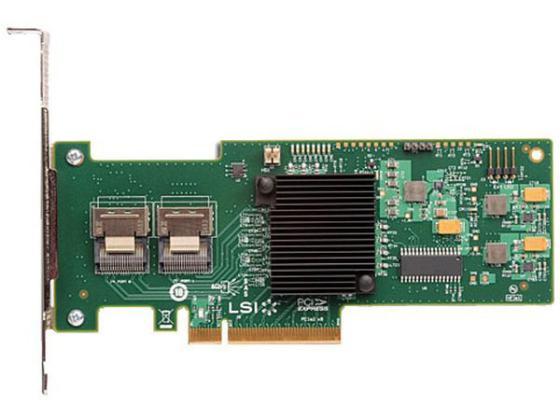 Контроллер SAS/SATA LSI MegaRAID SAS 9240-8i SGLLSI00200 PCI-E 8-port SAS / SATA RAID lsi sas 9300 8e lsi00343 pci express 3 0 sata sas 8 port sas3 12gb s hba single new retail 3 year warranty