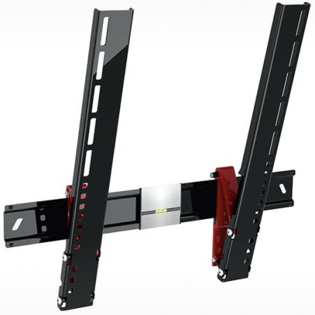 Кронштейн Holder LCDS-5084 черный для ЖК ТВ 37-55 настенный от стены 8мм наклон 15° VESA 400x400 до 35 кг кронштейн holder lcds 5070 черный для жк тв 37 55 настенный от стены 20мм vesa 200x200 до 45кг