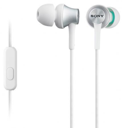 Наушники Sony MDR-EX450W/Q белый sony cdx g1100u q
