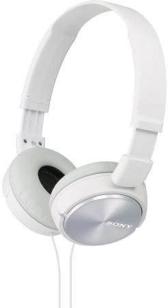 Наушники Sony MDR-ZX310 белый цена в Москве и Питере