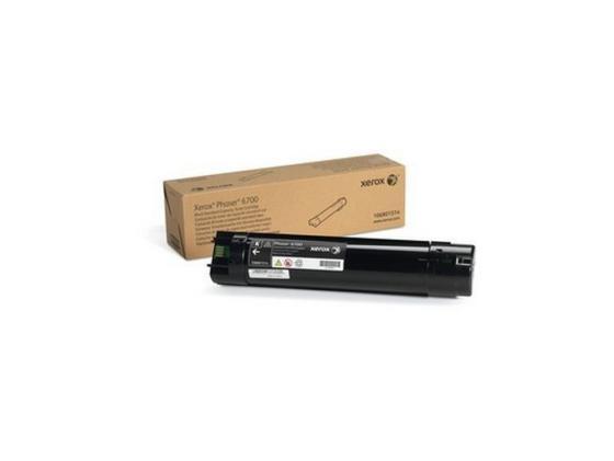 Тонер-Картридж Xerox 106R01514 для Phaser 6700 черный тонер картридж xerox 106r01511 для phaser 6700 голубой