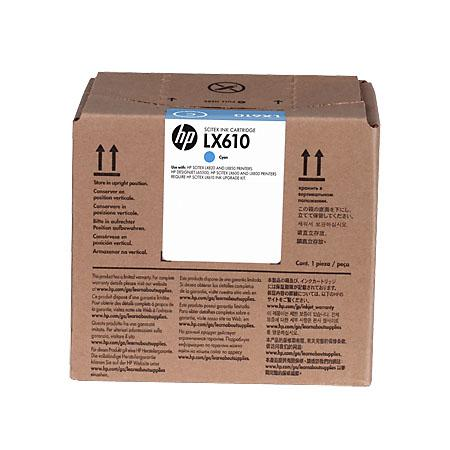 Картридж HP CN670A для HP Scitex LX610 голубой тонер картридж hp lx610 cyan cn670a