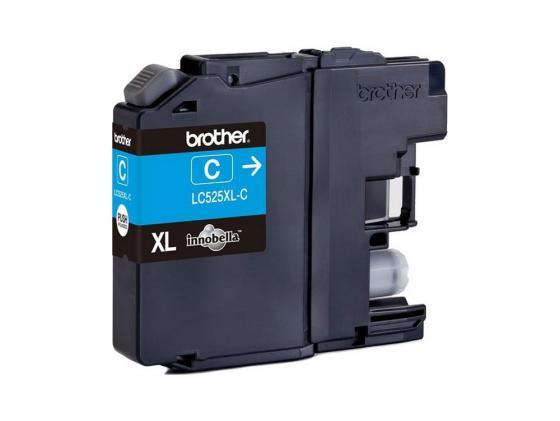 Картридж Brother LC525XLC для DCP-J100/J105 MFC-200 Голубой картридж brother lc525xlc
