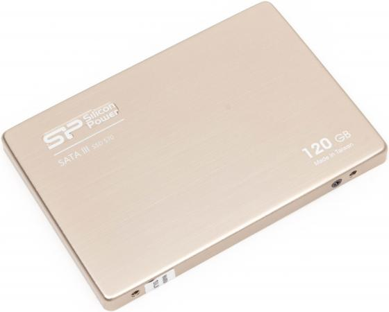Твердотельный накопитель SSD 2.5 120 Gb Silicon Power S70 Read 550Mb/s Write 510Mb/s SATA III SP120GBSS3S70S25 ssd твердотельный накопитель 2 5 240 gb silicon power velox v70 read 557mb s write 507mb s sata iii sp240gbss3v70s25