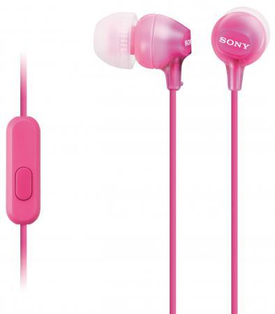 Наушники Sony MDR-EX15APPI/Z розовый sony sony stp xsr1 оригинальный ремешок розовый