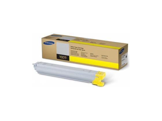 Тонер-Картридж Samsung CLT-Y809S/SEE для CLX-9201NA/CLX-9251NA/CLX-9301NA желтый 15000стр