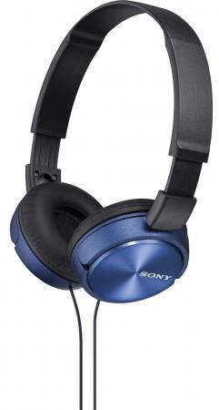 Наушники SONY MDR-ZX310L синий