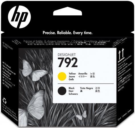 Печатающая головка HP CN702A № 792 для Designjet L26500 черный желтый цены онлайн