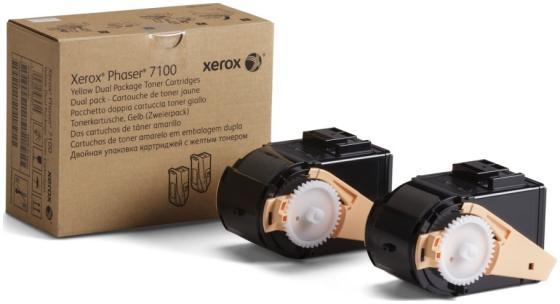 Картридж Xerox 106R02611 для Phaser 7100 желтый 9000стр картридж xerox 106r02611
