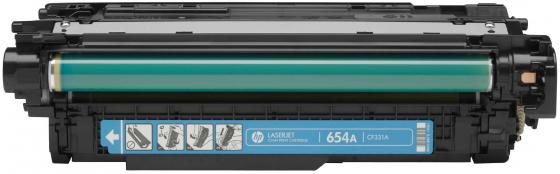 Картридж HP CF331A 654A для LaserJet Enterprise M651 голубой