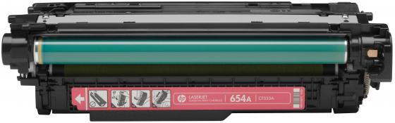Картридж HP CF333A 654A для LaserJet Enterprise M651 пурпурный