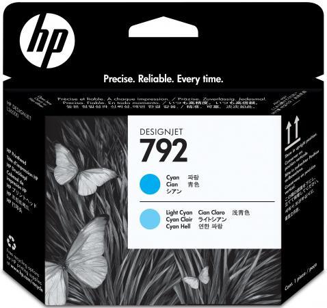 Картридж HP CN703A №792 для Designjet L26500 голубой/светло-голубой 775мл цены онлайн