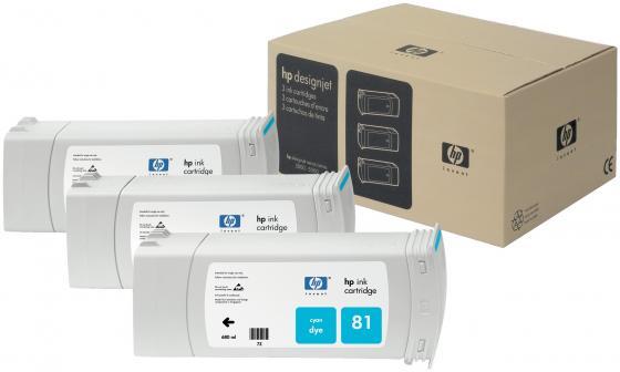 Картридж HP C5067A №81 для Deskjet 5000 голубой 3шт мфу hp deskjet ink advantage 5275