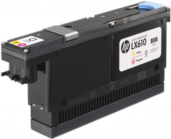 Печатающая головка HP CN667A для HP LX610 желтый пурпурный аккумулятор для ноутбука hp compaq hstnn lb12 hstnn ib12 hstnn c02c hstnn ub12 hstnn ib27 nc4200 nc4400 tc4200 6cell tc4400 hstnn ib12