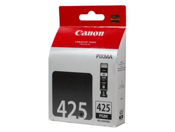 Картридж Canon PGI-425 PGBK для iP4840/MG5140 черный 344стр 2шт pgi 425 cli 425 refillable ink cartridges for canon pgi425 pixma ip4840 mg5140 ip4940 ix6540 mg5240 mg5340 mx714 mx884 mx894