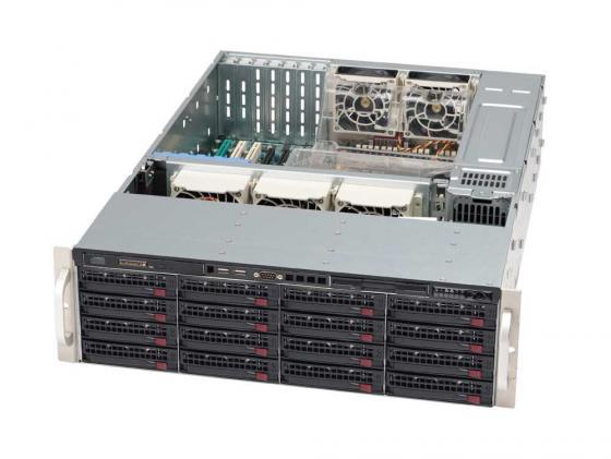 все цены на Серверный корпус 3U Supermicro CSE-836E16-R1200B 1200 Вт чёрный онлайн