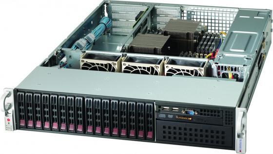 Серверный корпус 2U Supermicro CSE-213A-R740WB 740 Вт чёрный CSE-213A-R740WB корпус supermicro серв 2u 19