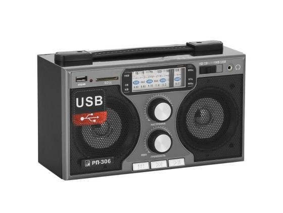Радиоприемник Сигнал БЗРП РП-306 черный цена и фото
