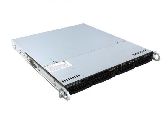 Серверная платформа SuperMicro SYS-5018D-MTF 1U LGA1150 C224 4xDDR3 4x3.5 SATA 2xGigabit Ethernet 350 Вт пленка тонировочная mtf original 50% 0 75 м х 3 м