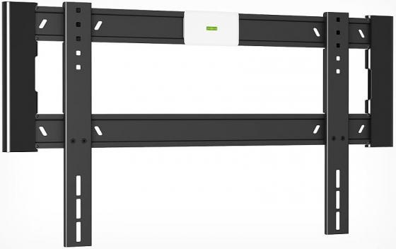 Кронштейн Holder LCD-F6604-B черный для ЖК ТВ 42-65 настенный от стены 18мм наклон 0° VESA 600x400 до 45 кг кронштейн holder lcd f4607 b черный для жк тв 32 65 настенный от стены 18мм наклон 0° vesa 400x400 до 40 кг