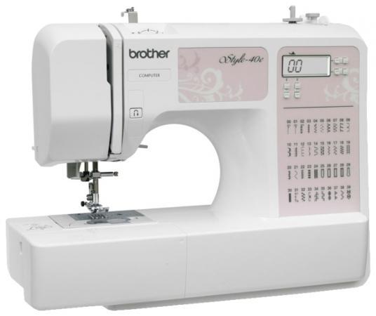 Швейная машина Brother Style 40E бело-розовый brother modern 40e